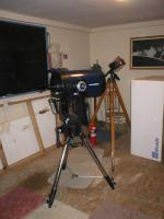 This is LVAAS\'s new 12 inch Meade LX-200.
