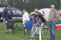 Glen and Marti Bachman, Alicia and Tony Friand, of the Explorer Post   [i] Originally uploaded by Joe Zelinski [/i] [i] 09 July 2002 [/i]