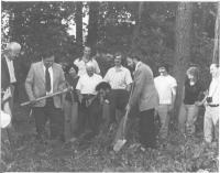 July 9 1979. L to R: Ralph Schlegel, Tom Roginski, Bob Bohm, Ken Mohr, George Maurer at far right (with camera).