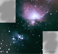 Taken over two nights (Friday and Saturday 20th and 21st Nov) from my deck.  3 minute subs, 25 for each part of mosaic using an Atik16HRC camera  on an AstroTech 80ED scope.  Mount Celestron CGEM guided using CCDLabs QGuider on a piggybacked StellarVue Little Rascal and PHD software.  ......and there are no chipmunks in sight, or any other small rodent for that matter.