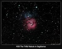Taken 7-1-11 from Pulpit Rock. AT66 APO, Atik 16C OSC, GM-8 mount guided with PHD. Capture & preprocessed in Nebulosity. Postprocessed in PhotoShop CS2+Noel Carboni Actions. 15 x 3min. subs
