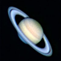 Saturn with my webcam. 1800 frames stacked.